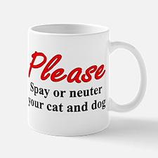 Spay/neuter Mug