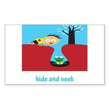 Hide And Seek Rectangle Decal