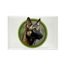 Malinois Art Rectangle Magnet