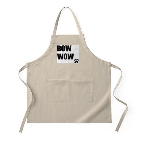 Bow Wow BBQ Apron