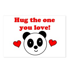 HUG THE ONE YOU LOVE Postcards (Package of 8)