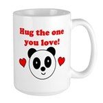HUG THE ONE YOU LOVE Large Mug