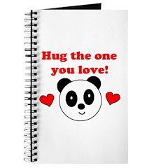HUG THE ONE YOU LOVE Journal