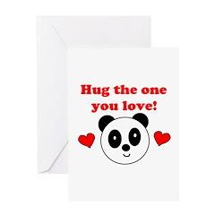HUG THE ONE YOU LOVE Greeting Card