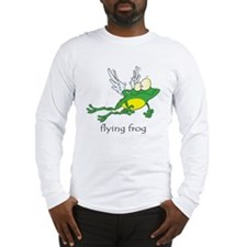 Flying Frog Long Sleeve T-Shirt