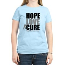 HopeLoveCure Diabetes T-Shirt
