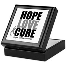 HopeLoveCure Diabetes Keepsake Box