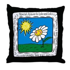 Answer To Prayer Throw Pillow