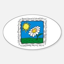 Answer To Prayer Oval Decal