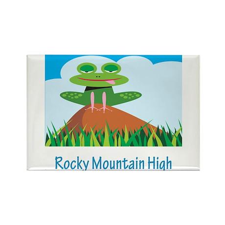 Rocky Mountain High Rectangle Magnet