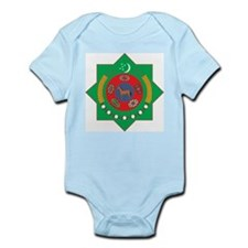 Turkmenistan Coat Of Arms Infant Creeper