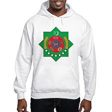 Turkmenistan Coat Of Arms Hoodie