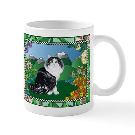 Mountain Cat Mug