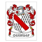 Cardigan Coat of Arms Small Poster