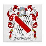 Cardigan Coat of Arms Tile Coaster