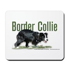 Creeping Border Collie Mousepad