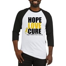 HopeLoveCure ChildhoodCancer Baseball Jersey
