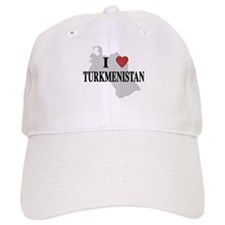 I Love Turkmenistan Baseball Cap
