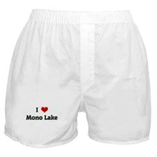 I Love Mono Lake Boxer Shorts