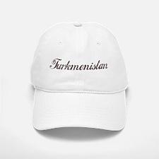 Vintage Turkmenistan Baseball Baseball Cap