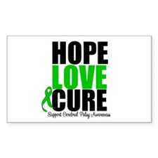 HopeLoveCure CerebralPalsy Rectangle Decal