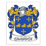 Cradock Coat of Arms Small Poster
