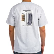 Mag/Clip Ash Grey T-Shirt