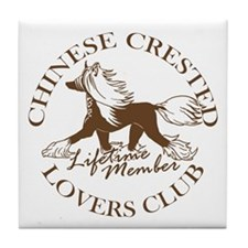 Crested Lovers Club Member Tile Coaster