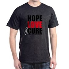HopeLoveCure BoneCancer T-Shirt
