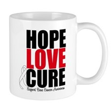 HopeLoveCure BoneCancer Mug