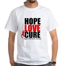 HopeLoveCure Blood Cancer Shirt