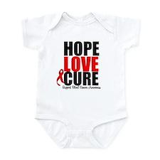 HopeLoveCure Blood Cancer Infant Bodysuit