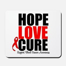 HopeLoveCure Blood Cancer Mousepad