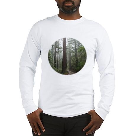 Redwood Forest Fog Long Sleeve T-Shirt