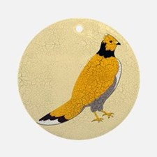 Ruffled Grouse Ornament (Round)