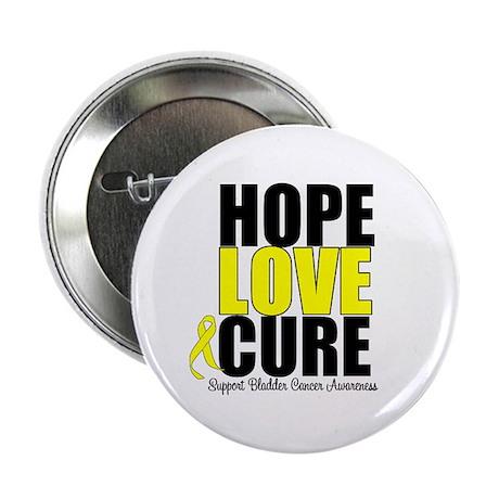 "HopeLoveCure BladderCancer 2.25"" Button"