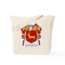 Davidson Coat of Arms Tote Bag