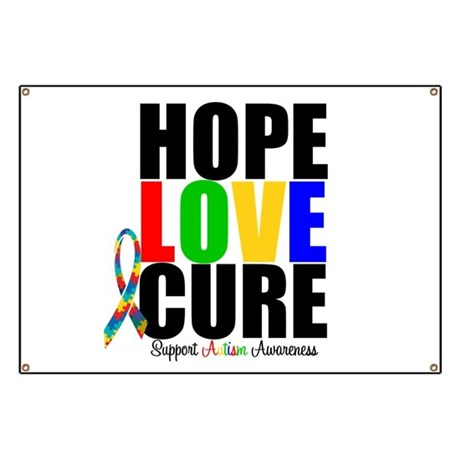 HopeLoveCure Autism Banner