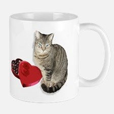 Cats, love, chocolate Mug