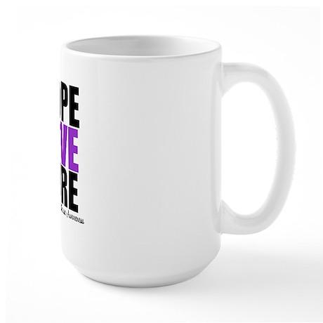 HopeLoveCure Alzheimer's Large Mug