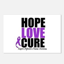 HopeLoveCure Alzheimer's Postcards (Package of 8)