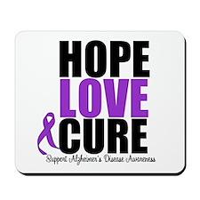 HopeLoveCure Alzheimer's Mousepad
