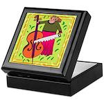 Funny Cello Keepsake Box