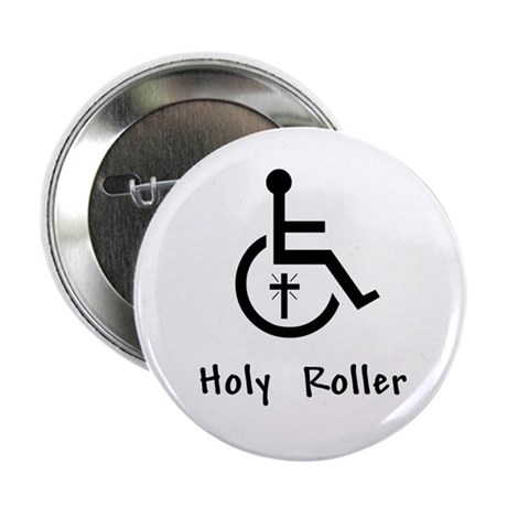 "Holy Roller 2.25"" Button (10 pack)"