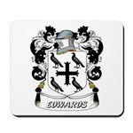 Edwards Coat of Arms Mousepad