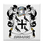 Edwards Coat of Arms Tile Coaster