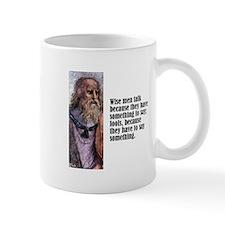 "Plato ""Wise Men"" Small Mug"