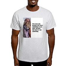"Plato ""Wise Men"" T-Shirt"