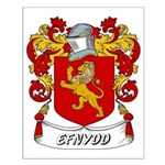 Efnydd Coat of Arms Small Poster