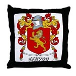 Efnydd Coat of Arms Throw Pillow